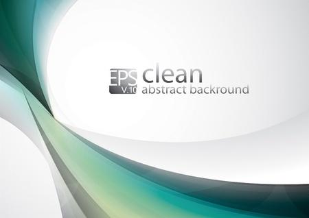 Saubere Zusammenfassung Hintergrund Serie von sauberen abstrakten Hintergrund, passend f�r Ihren Design-Element Illustration