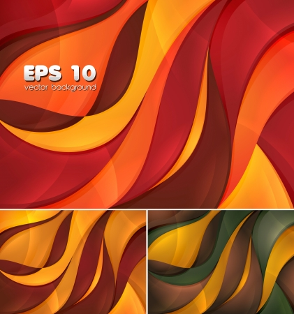 Curvy abstract background Stock Vector - 14474032