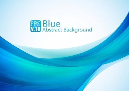 azul: Fondo abstracto azul Vectores