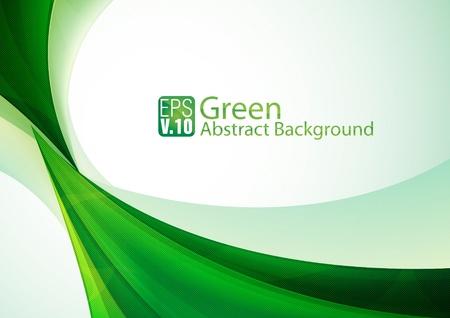 緑の Abstarct 背景  イラスト・ベクター素材
