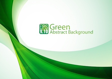 sheen: Green Abstarct Background