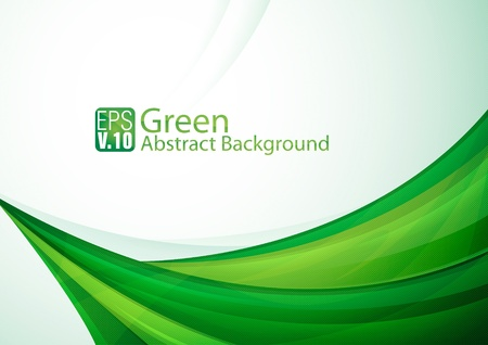 Green Abstarct Background Stock Vector - 17674446