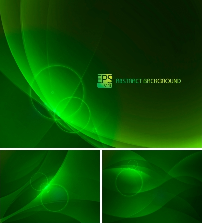 sapphire: Green abstract background