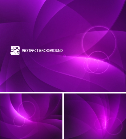 Purple abstract background Stock Vector - 17674160