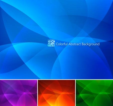 viso: Fondo abstracto colorido Vectores