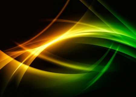 wavy abstract background Stock Photo - 17674509
