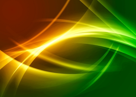 wavy abstract background Stock Photo - 17674517
