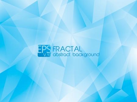 shatter: Fractal abstract background Illustration