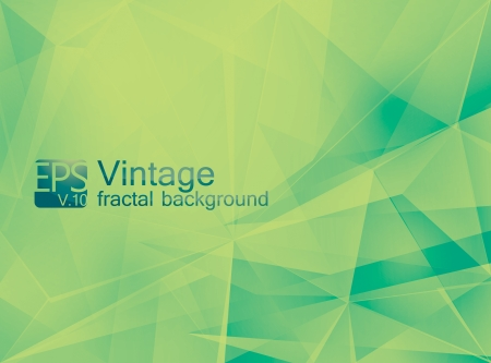 alga: Vintage abstract background Illustration