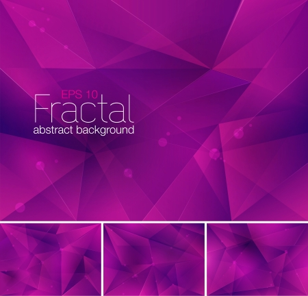 Fractal Abstract Background 일러스트