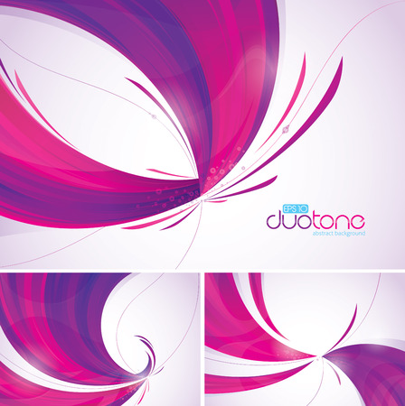 Duotone abstract background