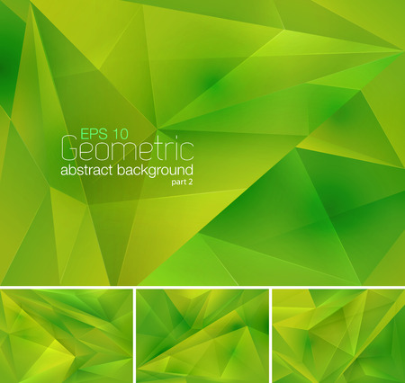 Geometric Abstract Background Illustration