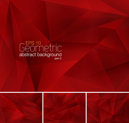 Geometric abstract background 向量圖像
