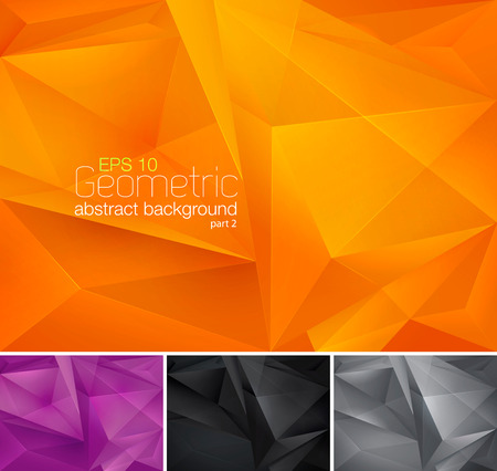Geometric abstract background Ilustração