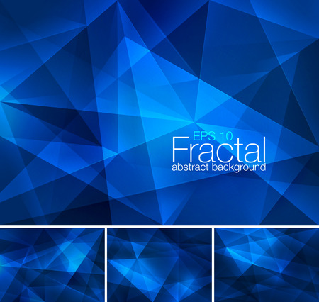 Fractal abstract background Illustration