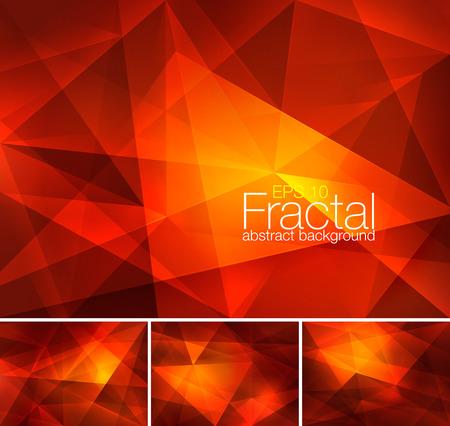 Fractal abstract background Çizim