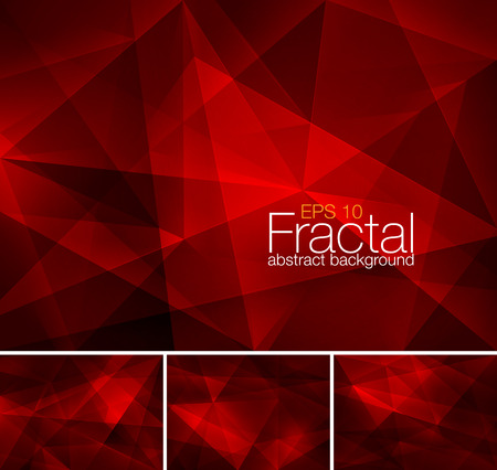 Fractal abstract background 向量圖像