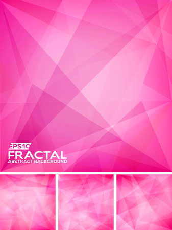 fractal pink: Fractal Abstract Background Illustration