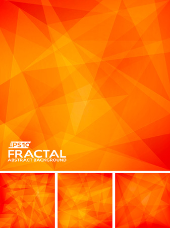 crystal background: Fractal Abstract Background Illustration