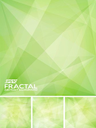 Fractal Abstract Background Ilustração