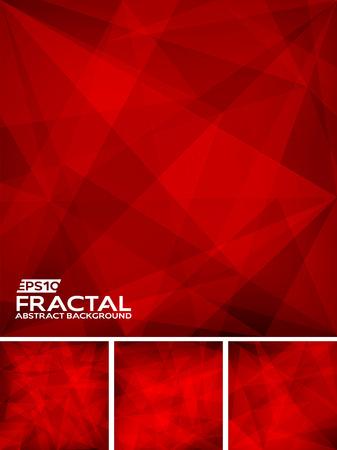 fractal background: Fractal Abstract Background Illustration
