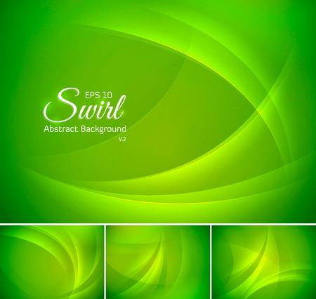 Swirl abstrakten Hintergrund-Serie, Dateiformat EPS-10