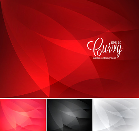curvy: Curvy abstract background