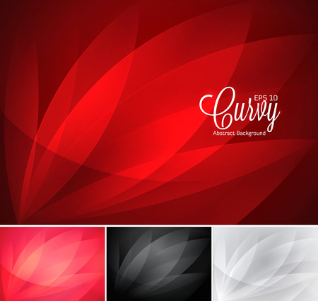 Curvy abstract background