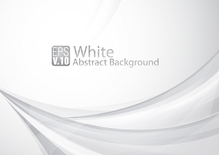 white background: Clean abstract background