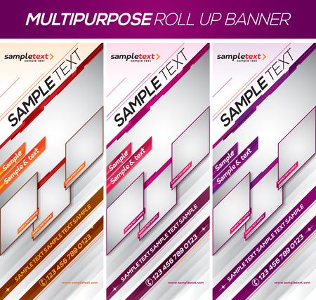 sponsorship: Multipurpose roll up banner