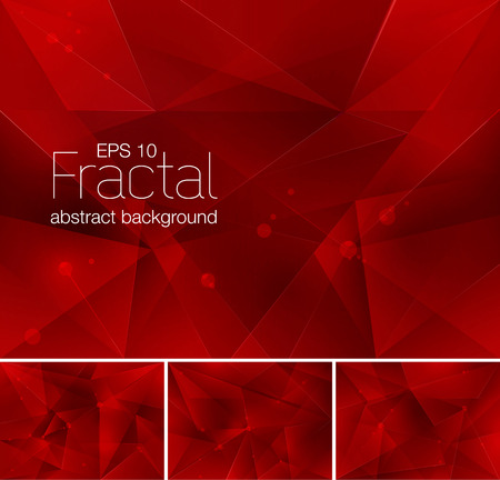 Fractal abstract background. Each background separately on different layers.  Available in 4 variants and created in RGB mode
