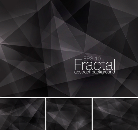 Fractal abstract background series