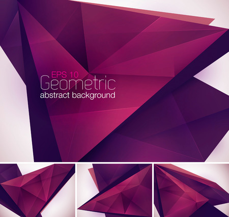 low poly: Geometric abstract background. Low poly vector background Illustration
