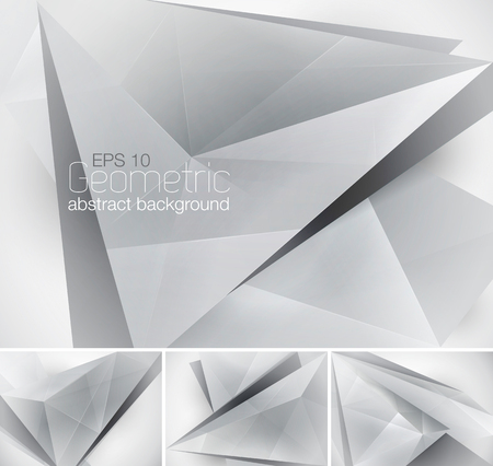 Geometric abstract background. Low poly vector background Illustration