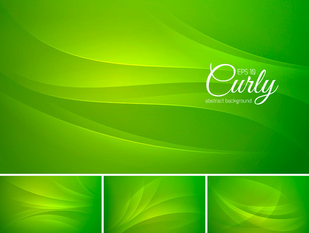 squiggle: Curly abstract background series. File format EPS 10