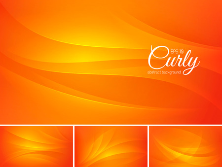 curl whirlpool: Curly abstract background series. File format EPS 10