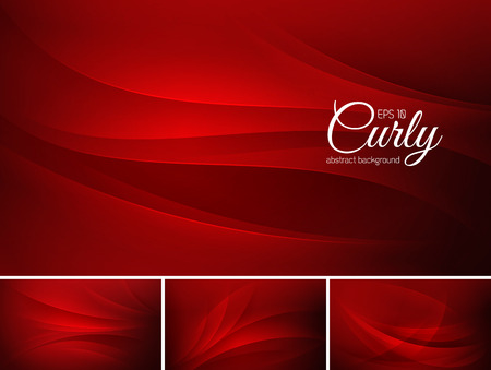 Curly abstract background series. File format EPS 10