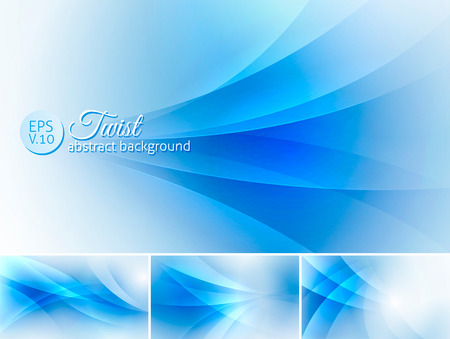 squiggle: Twist  abstract background. A set of vector background suitable for design element Illustration