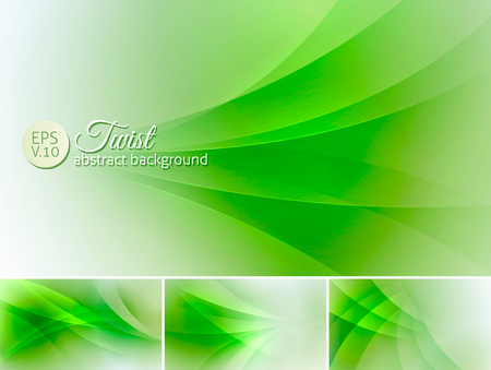 unoccupied: Twist  abstract background. A set of vector background suitable for design element Illustration