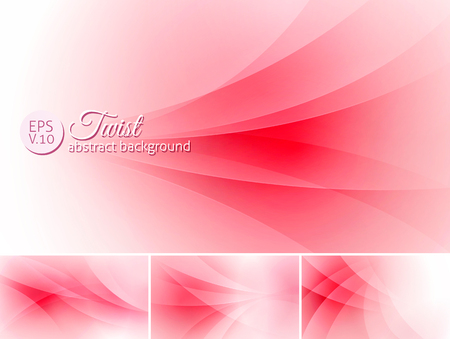 curl whirlpool: Twist  abstract background. A set of vector background suitable for design element Illustration