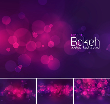 zafiro: Bokeh and blur abstract background series. Suitable for your design element or web background Vectores