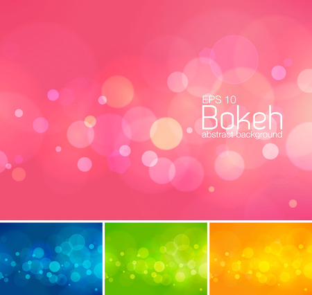 Bokeh and blur  abstract background series. Suitable for your design element or web background Illustration