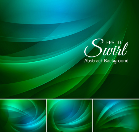 duo tone: Swirl abstract background series. Suitable for your design element and web background