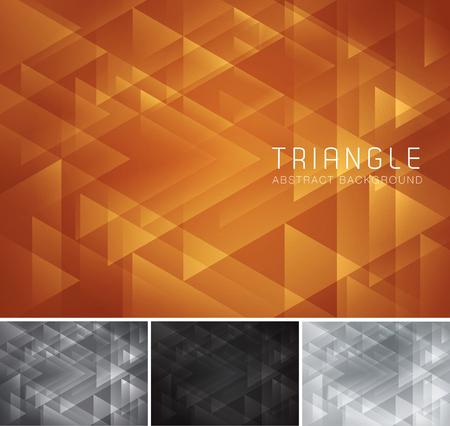 luxo: abstrato base triangular. Low poly e geométrica Série do fundo do vetor, apropriado para elemento de design e fundo do Web Ilustração