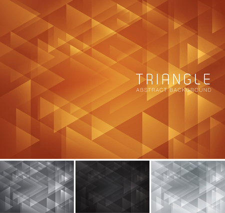 lux: Triangular abstract background. Low poly and geometric vector background series, suitable for design element and web background