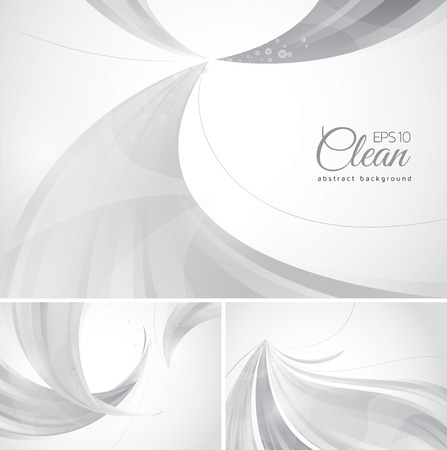 Clean abstract background. A set of clean vector abstract background, suitable for your design element and web background