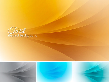 squiggle: Twist  abstract background. A set of vector background suitable for design element and web background
