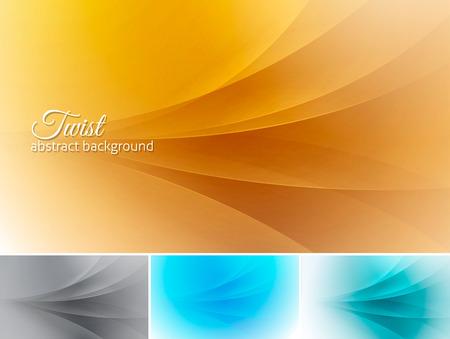 적합: Twist  abstract background. A set of vector background suitable for design element and web background