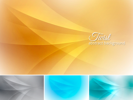Twist  abstract background. A set of vector background suitable for design element and web background