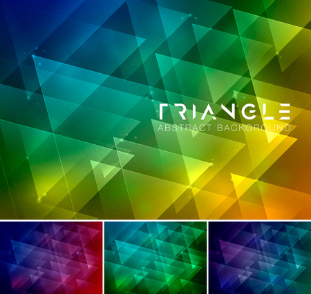 Triangle abstract background. Low poly and geometric vector background series, suitable for design element and web background